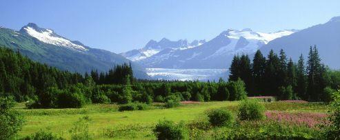 Mountain 12 MendenhallGlacier Alaska